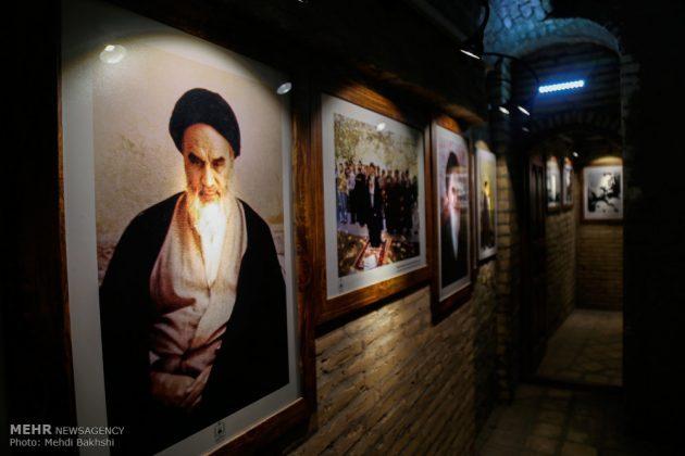 Los peregrinos visitan la casa del imán Jomeini en la Nayaf de Irak1
