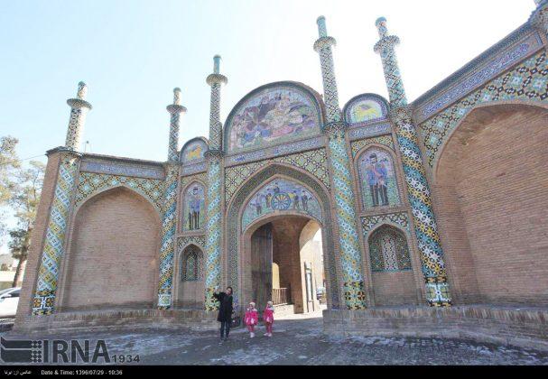 Atracciones turísticas de Irán en imágenes: Arg Gate de Semnan1