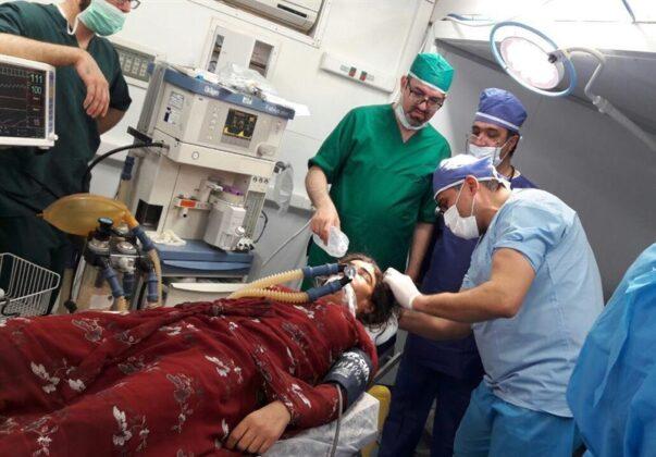 Two Babies Born in Makeshift Hospital amid Iran Earthquake1