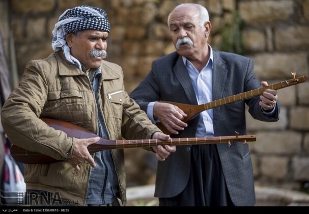 Playing Tanbur; Ancient Ritual in Iranian City of Dalahu10