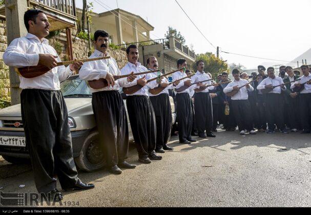 Playing Tanbur; Ancient Ritual in Iranian City of Dalahu11