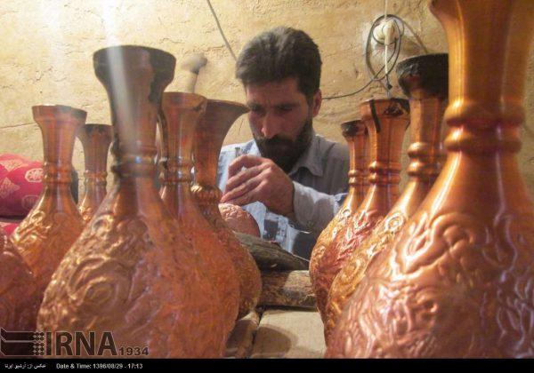 ورشة الحرف اليدوية بمحافظة لُرستان الايرانية11