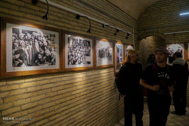 Los peregrinos visitan la casa del imán Jomeini en la Nayaf de Irak13