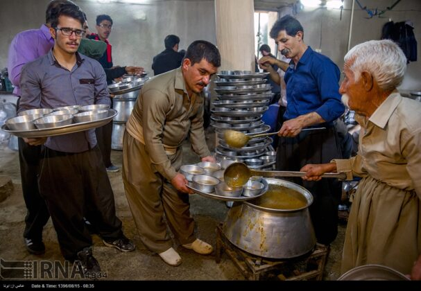 Playing Tanbur; Ancient Ritual in Iranian City of Dalahu13