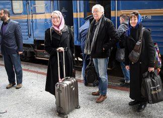 قطار گردشگری عقاب طلایی
