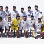 ايران تتغلب على الباراغواي بكأس القارات للكرة الشاطئية 2017