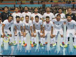 المنتخب الايراني لكرة الصالات يحتفظ بالمركز الخامس عالمياً