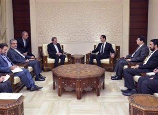 مستشار القائد الخامنئي يلتقي الاسد في دمشق
