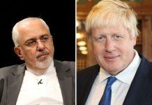 """اكد وزير الخارجية الايراني """"محمد جواد ظريف"""" ان اجراءات السعودية في المنطقة خطيرة واستفزازية، معتبرا المزاعم الخطيرة للمسؤولين السعوديين تتعارض مع الحقوق الدولية وميثاق الامم المتحدة."""