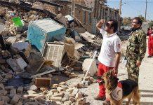 اكثر من 15 الف وحدة سكنية تضررت جراء الزلزال في غرب ايران