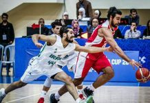 خسارة منتخب سلة ايران امام نظيره العراقي بمستهل تصفيات كأس العالم