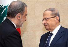 مستشار القائد الخامنئي يلتقي ميشال عون في لبنان
