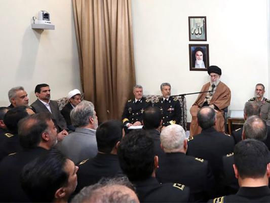 Líder iraní pide a Fuerzas Navales a continuar su presencia en alta mar