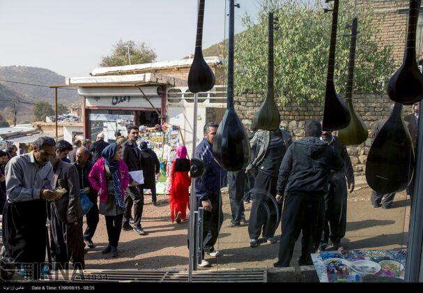 Playing Tanbur; Ancient Ritual in Iranian City of Dalahu16