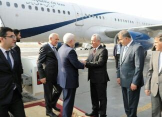 Iran FM in Tajikistan for High-Level Talks