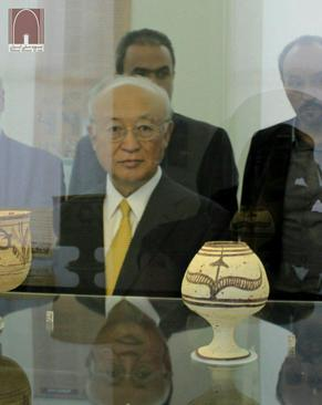 IAEA Chief Visits National Museum of Iran2