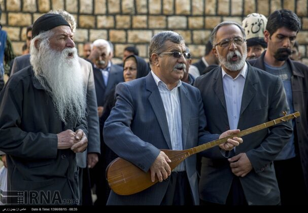 Playing Tanbur; Ancient Ritual in Iranian City of Dalahu2