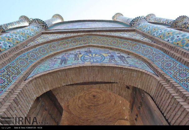 Atracciones turísticas de Irán en imágenes: Arg Gate de Semnan2