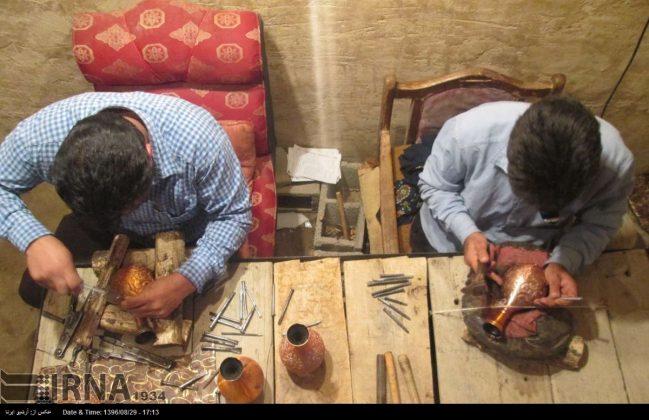 ورشة الحرف اليدوية بمحافظة لُرستان الايرانية2
