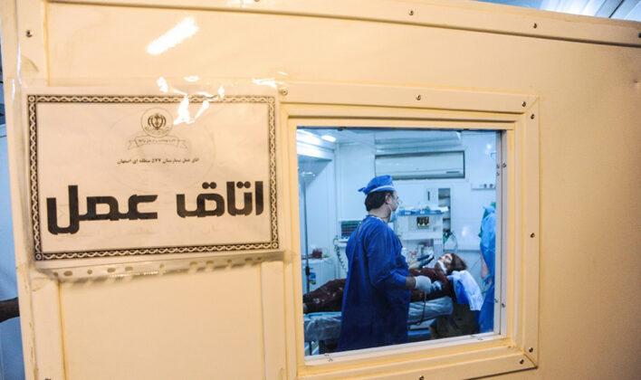 Two Babies Born in Makeshift Hospital amid Iran Earthquake20
