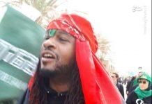 سه خواننده رپ آمریکایی در پیادهروی اربعین شرکت کردند
