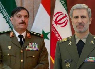وزير الدفاع الايراني يهنئ نظيره السوري بتحرير دير الزور