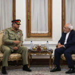 Iran FM, Pakistan Army Chief Discuss Security Ties