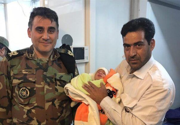 Two Babies Born in Makeshift Hospital amid Iran Earthquake3