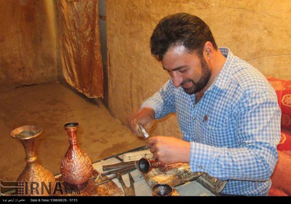 ورشة الحرف اليدوية بمحافظة لُرستان الايرانية3