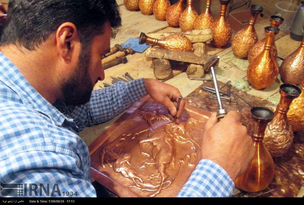 ورشة الحرف اليدوية بمحافظة لُرستان الايرانية4