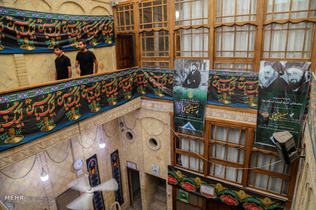 Los peregrinos visitan la casa del imán Jomeini en la Nayaf de Irak5