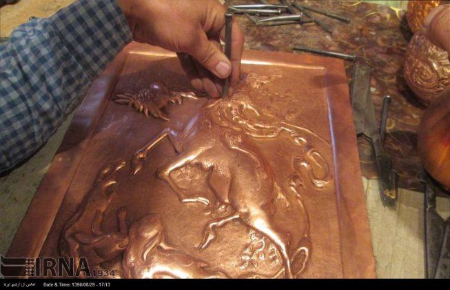 ورشة الحرف اليدوية بمحافظة لُرستان الايرانية5