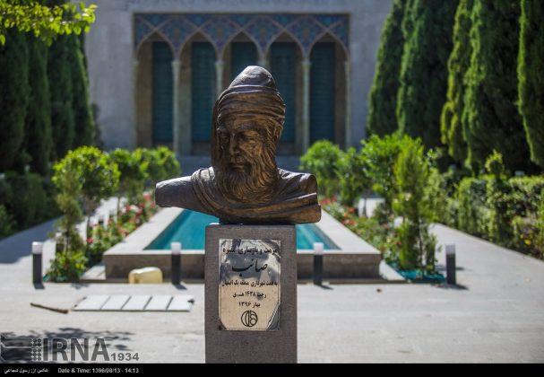 آرامگاه صائب تبریزی در باغ تکیه اصفهان5