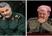 بارزاني يعزي الجنرال قاسم سلیماني برحيل والده