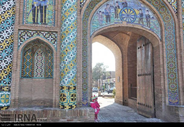 Atracciones turísticas de Irán en imágenes: Arg Gate de Semnan6