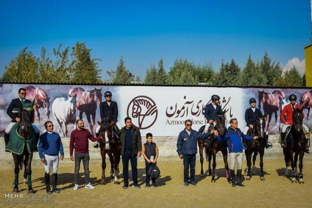 بطولة قفز الحواجز في طهران 9