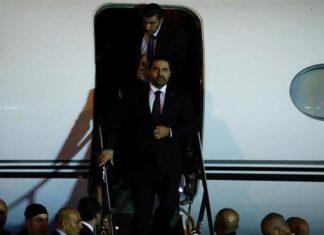 Lebanese PM Hariri Finally Arrives Back in Beirut