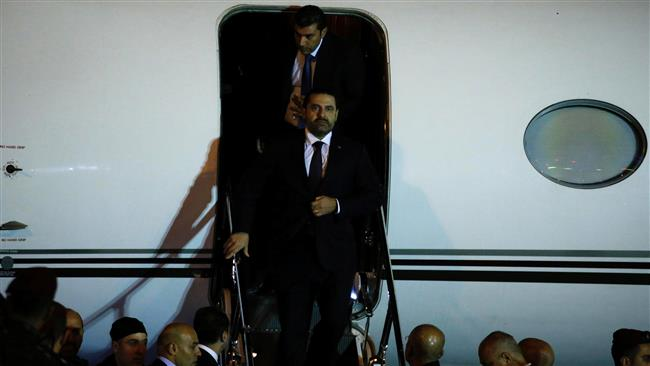 Lebanese PM Hariri Finally Arrives Back in Beirut