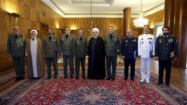 Gov't to Continue Supporting Iranian Armed Forces