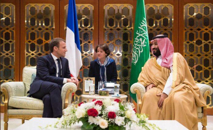 Macron and Bin Salamn