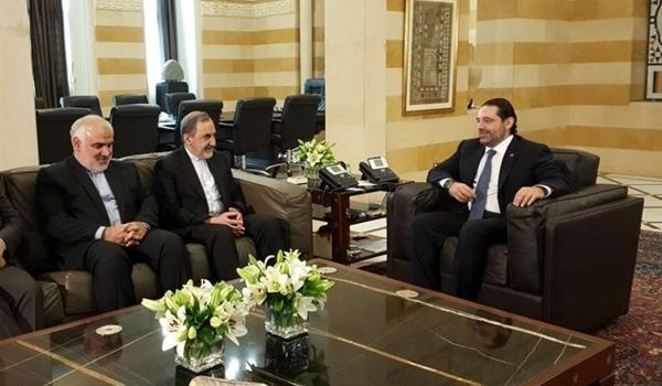 Velayati-Saad Hariri