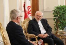 Zarif and Mark Lowcock