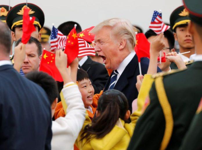دونالد ترامپ- چین