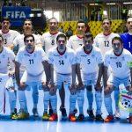 تصنيف الفيفا.. الكرة الخماسية الايرانية لازالت الأولي اسيويا والخامسة عالميا