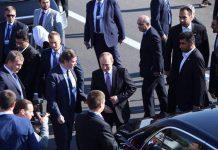 قبل قليل .. وصول الرئيس الروسي إلى طهران