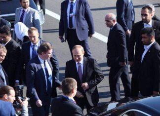 Russian President Putin in Tehran for Talks