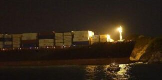 Iranian Cargo Ship Crashes into Island near Hong Kong1