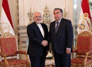Iran FM, Tajikistan President Discuss Bilateral, Regional Issues
