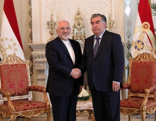 Iran FM, Tajikistan President Discuss Bilateral, Regional Issues