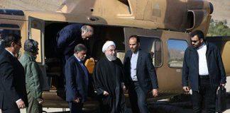 El presidente de Irán visita áreas afectadas por el terremoto